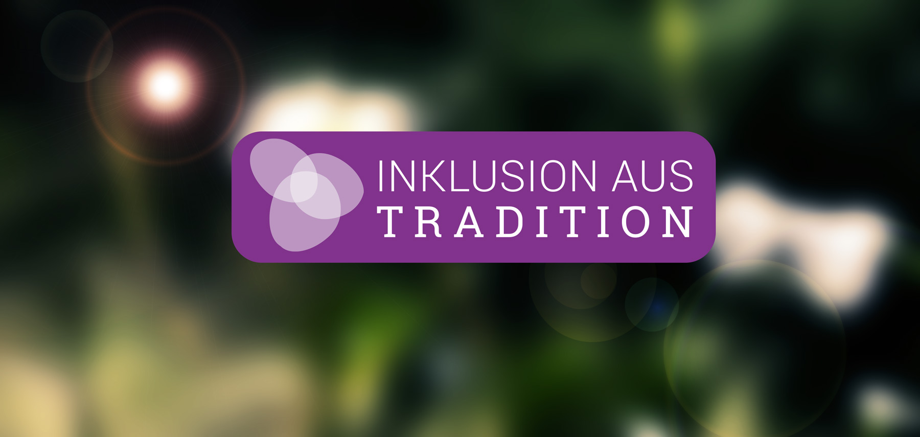 Logo Inklusion aus Tradition